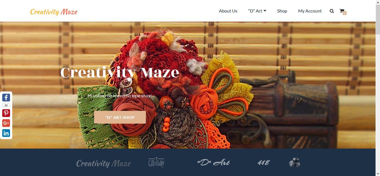 Creativity Maze Site